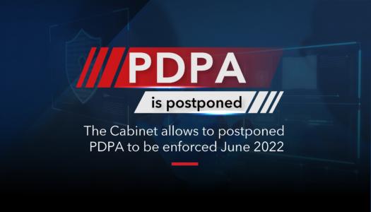 PDPA PDPA postponed to June 2022